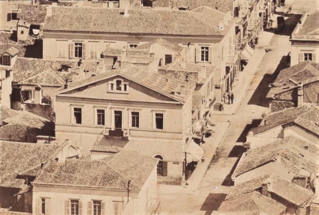 """Η οδός Αιόλου κατά το 1859 - Το καφενείο """"Η Ωραία Ελλάς"""" - Το πρώτο ανεπίσημο Χρηματιστήριο"""