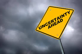 Global uncertainty is rising, and that is a bad omen for growth