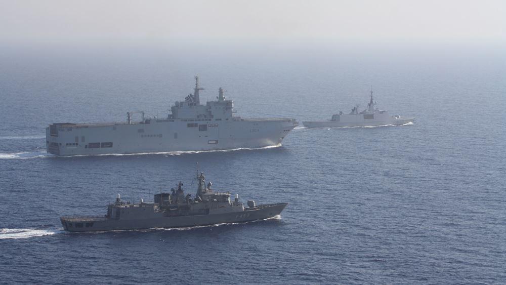 Ημέρα διπλωματικού μαραθωνίου για την ανατολική Μεσόγειο