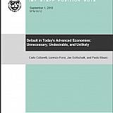 ΔΝΤ: Χρεοκοπίες στις σημερινές αναπτυγμένες οικονομίες: Μη απαραίτητες, μη επιθυμητές και μη πιθανές