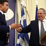 Η ΠΓΔΜ στο ΝΑΤΟ μόνο αν επιλυθεί το ζήτημα της ονομασίας, ξεκαθαρίζει ο Νίκος Κοτζιάς