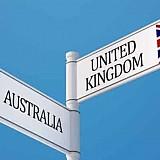 Εμπορική συμφωνία ανακοίνωσαν Βρετανία και Αυστραλία.