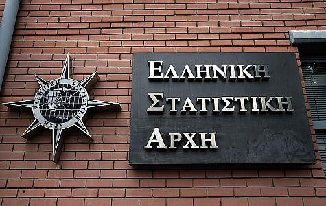 ΕΛΣΤΑΤ – Υφεση 9% σημείωσε τελικά η Ελλάδα το 2020