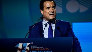 Βαρύ πρόστιμο για αισχροκέρδεια προαναγγέλλει ο υπουργός Ανάπτυξης Ά. Γεωργιάδης