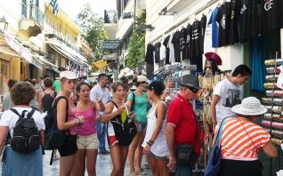 Αυξήθηκαν κατά 15,3% τα τουριστικά έσοδα το α΄ εξάμηνο