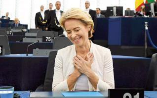 Πρόεδρος της Ε.Ε. η Φον ντερ Λάιεν