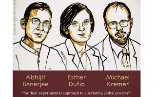 Νόμπελ 2019: Σε ποιους απονεμήθηκε το βραβείο Οικονομίας