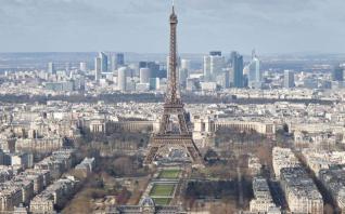 Βουτιά 8,2% κατέγραψε η γαλλική οικονομία το 2020