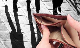"""""""Παγίδα"""" φτώχειας και χρέους για περισσότερο από το 1/3 του πληθυσμού (μελέτη του ΙΜΕ-ΓΣΕΒΕΕ)"""