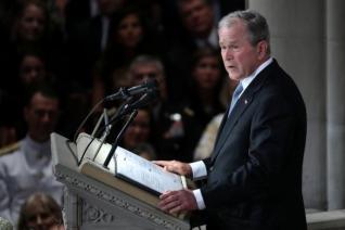 Και ο Μπους στη μάχη του «Ναι» για το δημοψήφισμα στην ΠΓΔΜ