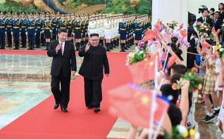 Επίσκεψη Κιμ Γιονγκ Ουν στο Πεκίνο