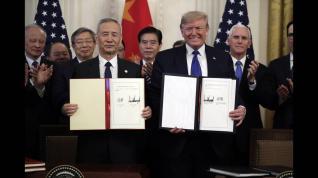 ΗΠΑ - Κίνα υπέγραψαν την «ιστορική» εμπορική συμφωνία τους