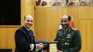 Υπεγράφη συμφωνία στρατιωτικής συνεργασίας Ελλάδας-ΗΑΕ